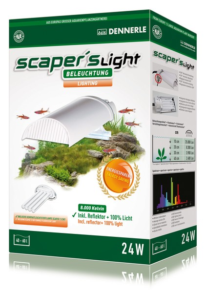 Light for aquascaping aquariums
